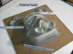 Image: original moulds (front)